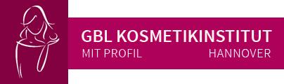 GBL Kosmetikinstitut mit Profil - Logo